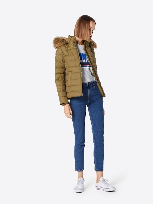 Veste En Olive Tommy Jeans D'hiver v0wmN8On