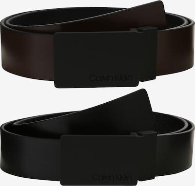 Diržas '3.5CM GIFTSET' iš Calvin Klein , spalva - tamsiai ruda / juoda, Prekių apžvalga