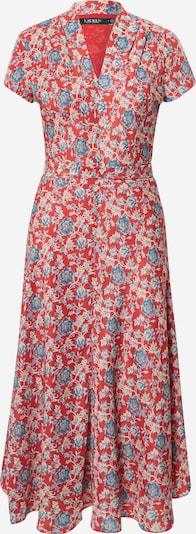 Lauren Ralph Lauren Šaty 'Amit' - béžová / modrá / červená, Produkt