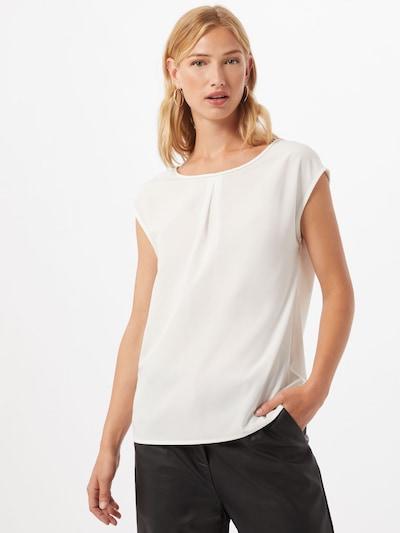 s.Oliver BLACK LABEL Blusenshirt in weiß, Modelansicht