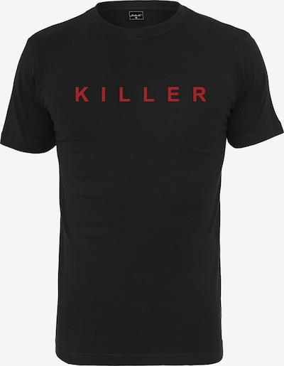 Mister Tee T-Shirt 'KILLER' in rot / schwarz: Frontalansicht