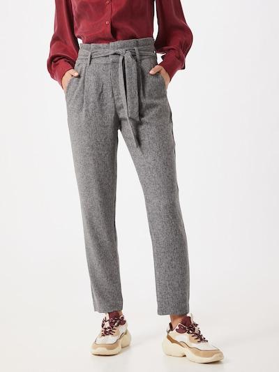 VERO MODA Pantalon à plis en gris, Vue avec modèle