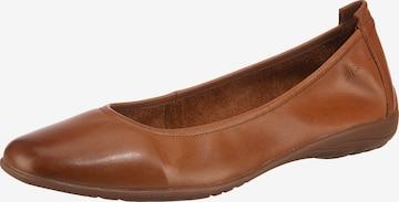 JOSEF SEIBEL Ballet Flats 'Fenja' in Brown