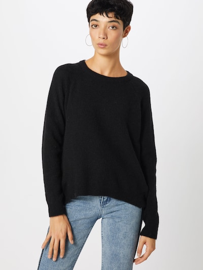 minimum Pullover 'KITA' in schwarz, Modelansicht