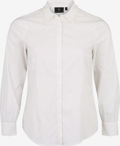 Bluză 'YASKAR' Zay pe alb, Vizualizare produs
