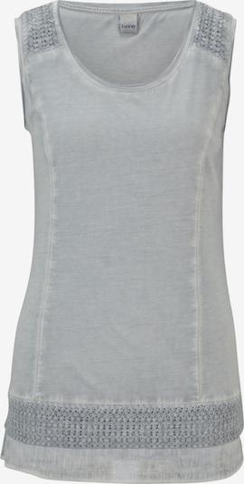 heine Shirttop in taubenblau, Produktansicht