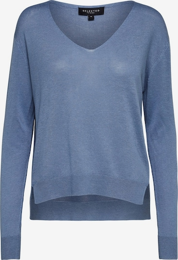 SELECTED FEMME Pullover in blau, Produktansicht