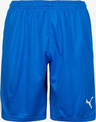 PUMA Sportbroek 'Liga' in de kleur Blauw / Wit, Productweergave