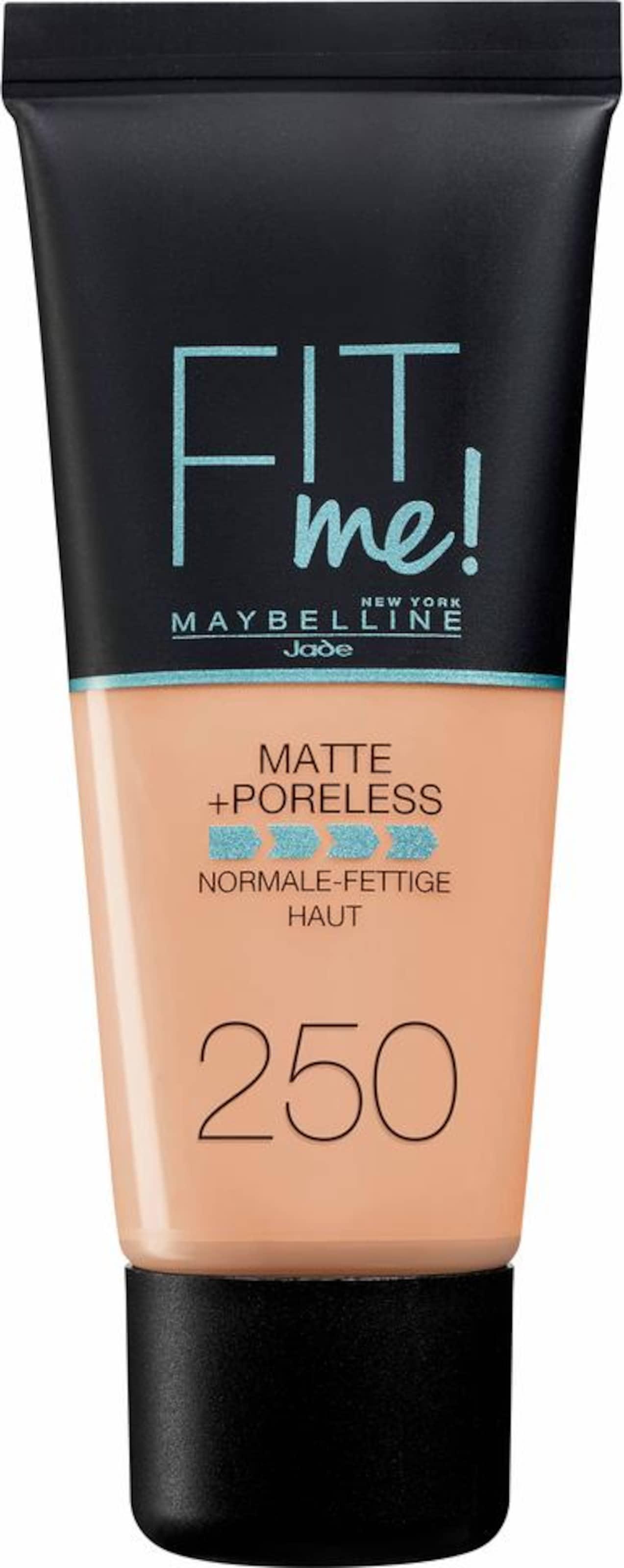MAYBELLINE New York 'FIT ME Matt&Poreless Make-Up', Make-Up