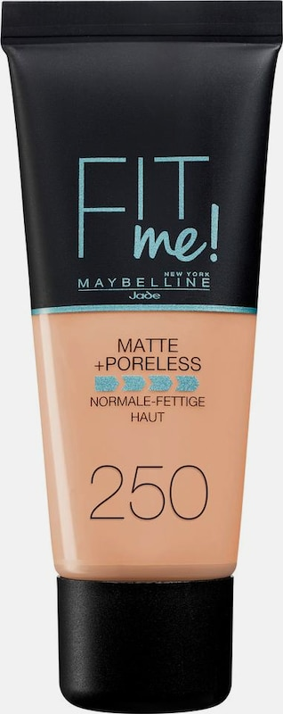 Maybelline New York Fit Me Matt&poreless Make-up, Make-up