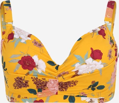 Swim by Zizzi Bikinový top 'SBelle' - žlté / zmiešané farby, Produkt