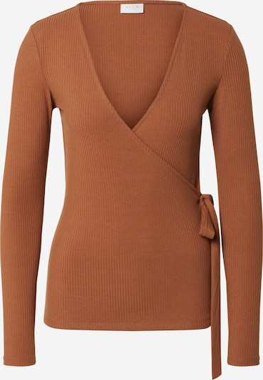 VILA Shirt 'WONDA' in braun, Produktansicht