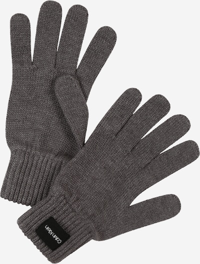 Calvin Klein Fingerhandschuhe in dunkelgrau, Produktansicht