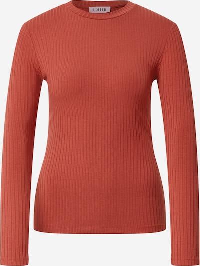 EDITED T-shirt 'Ginger' en rouge rouille, Vue avec produit