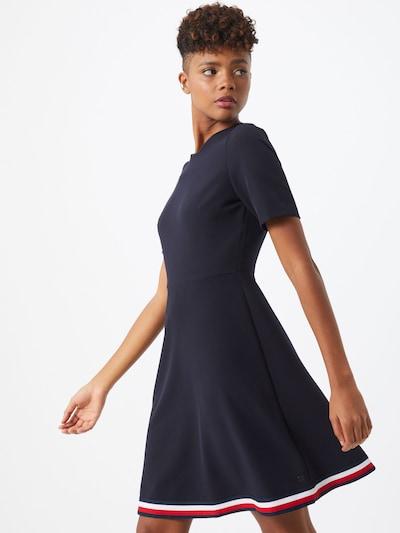TOMMY HILFIGER Kleid 'Angela' in navy / rot / weiß, Modelansicht