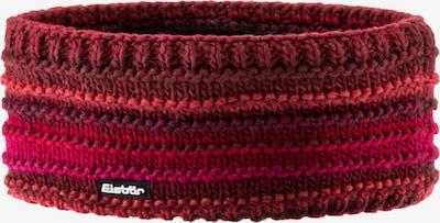 Eisbär Stirnband 'Mikata' in rot / dunkelrot, Produktansicht