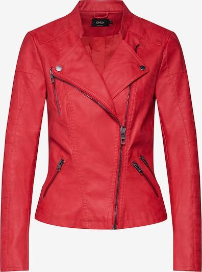 ONLY Bikerjacke 'Ava' in rot, Produktansicht