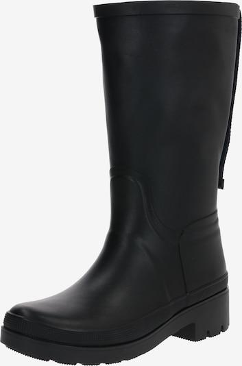 TOMMY HILFIGER Regenlaarzen 'ELEVATED' in de kleur Zwart, Productweergave