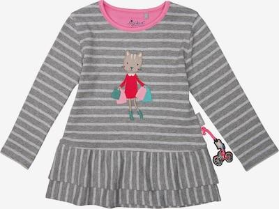 SIGIKID Jerseykleid in hellgrau / dunkelgrau, Produktansicht
