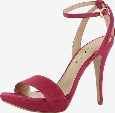 EVITA Sandalette 'VALERIA' in pink: Frontalansicht