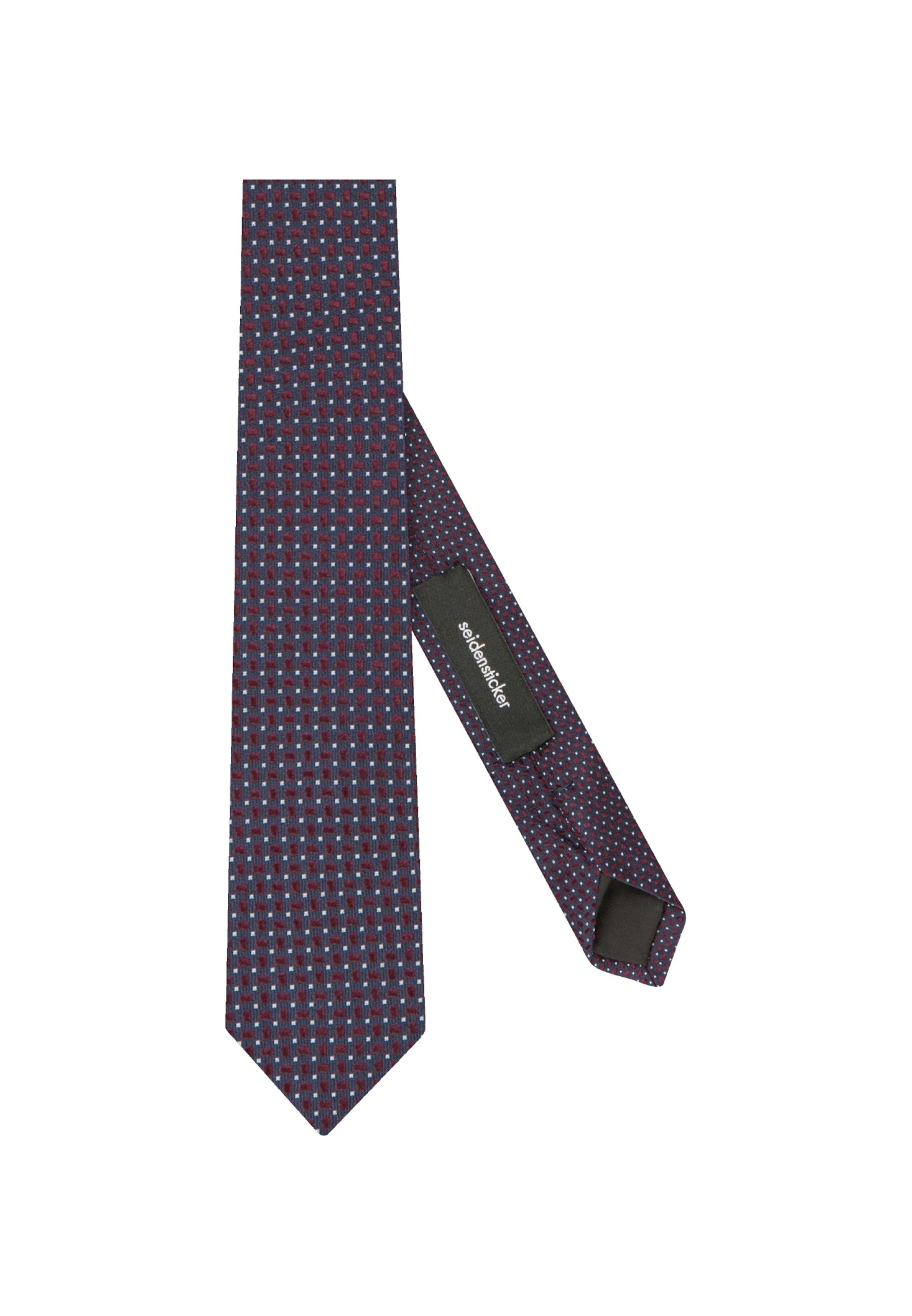 Seidensticker 'slim' Krawatte 'slim' In BordeauxWeiß Krawatte Seidensticker f7b6ygIYv