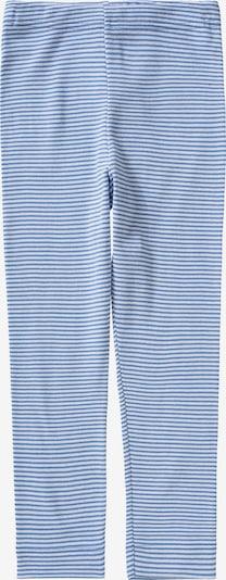 SANETTA Lange Unterhose in blau / weiß, Produktansicht