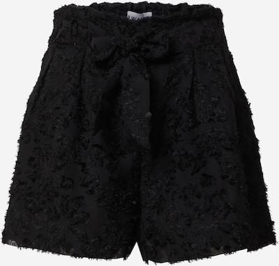 VERO MODA Voltidega püksid must, Tootevaade