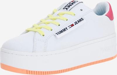 fukszia / fehér Tommy Jeans Rövid szárú edzőcipők, Termék nézet