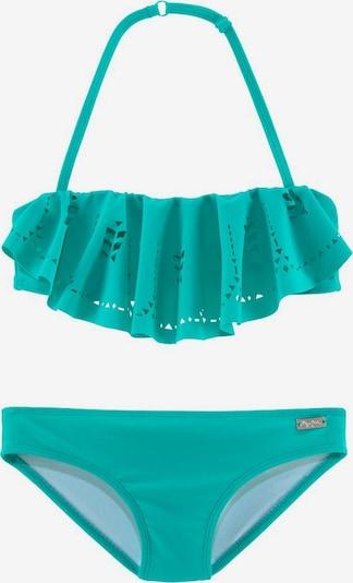 BUFFALO Bandeau-Bikini 'Split Buf' in Turquoise, Item view