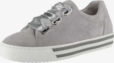 GABOR Sneaker in grau: Frontalansicht
