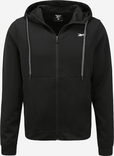 REEBOK Sportsweatvest in de kleur Zwart, Productweergave