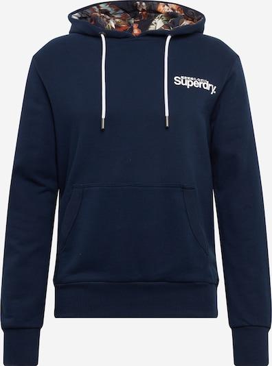 Superdry Sweatshirt in de kleur Navy, Productweergave