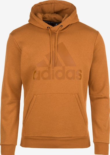 ADIDAS PERFORMANCE Sweatshirt in Graumeliert Anthrazit