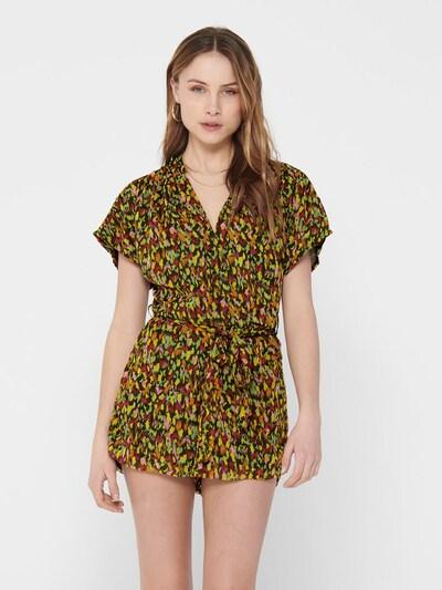 ONLY Jumpsuit in de kleur Groen / Gemengde kleuren, Modelweergave