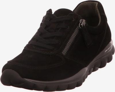 GABOR Schnürschuh in rot / schwarz / weiß, Produktansicht