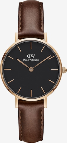 Daniel Wellington Analog Watch 'Classic Petite' in Brown