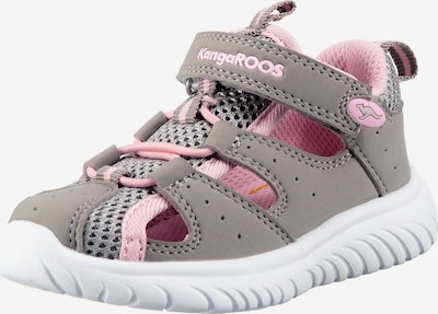 myToys-COLLECTION Sandale in grau / rosa, Produktansicht