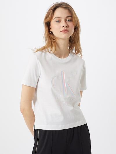 Calvin Klein Shirt in pink / weiß: Frontalansicht