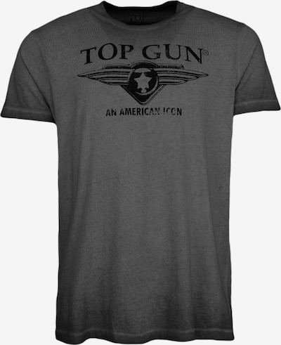 TOP GUN T-Shirt  ' Wing cast ' in schwarz, Produktansicht