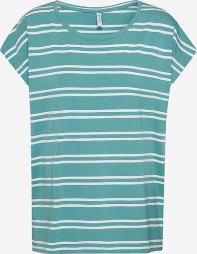 Tricou 'CELESTE L SS' Blend She pe albastru / alb, Vizualizare produs