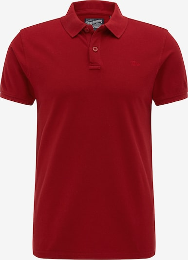 Petrol Industries Poloshirt in rot: Frontalansicht