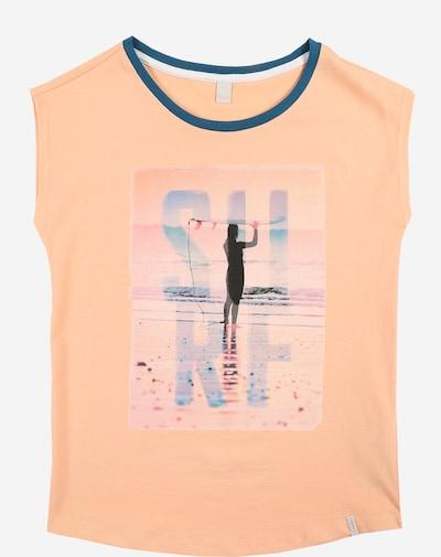 ESPRIT Ärmelloses T-Shirt in apricot: Frontalansicht