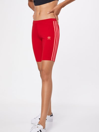 ADIDAS ORIGINALS Shorts 'Cycling' in rot, Modelansicht