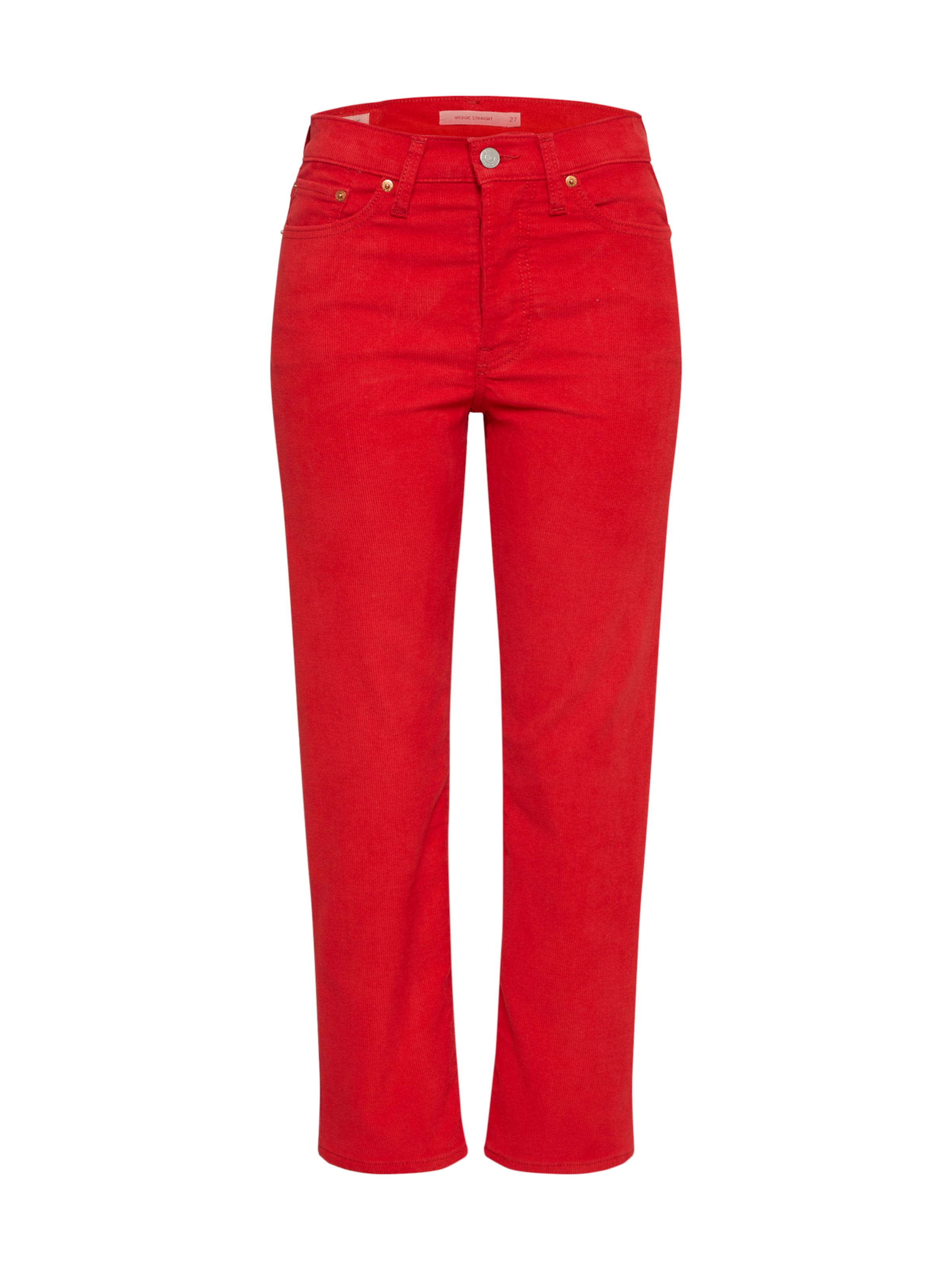 'wedgie Rouge Straight' En Levi's Pantalon fgy7Yb6