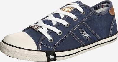 MUSTANG Sneaker im Canvas-Style in dunkelblau, Produktansicht