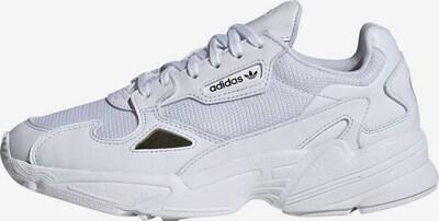 ADIDAS ORIGINALS Sneaker 'Falcon' in gold / weiß: Frontalansicht