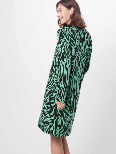 DRYKORN Sukienka 'JOSY' w kolorze zielony / czarnym: Widok od tyłu