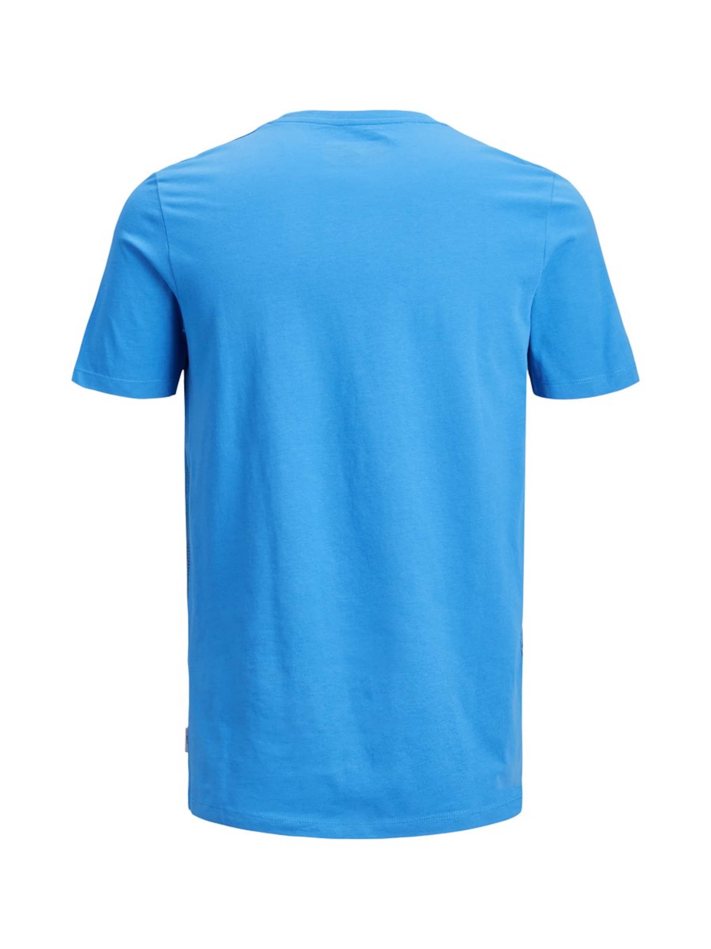 T In Jones Weiß RoyalblauSchwarz Jackamp; shirt SUpVzM