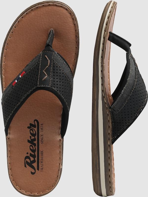 Haltbare Mode billige Gut Schuhe RIEKER | Zehentrenner 'Comfy' Schuhe Gut billige getragene Schuhe 6f9cf3