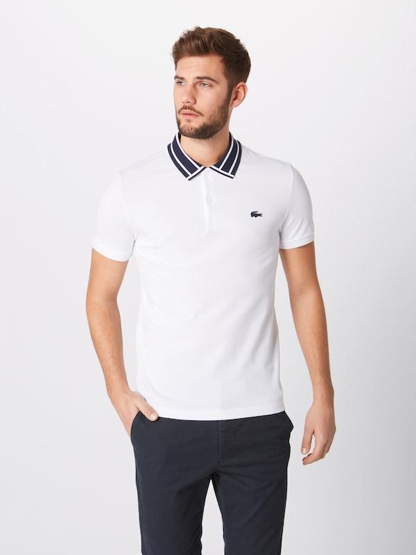 Blanc Lacoste Ma' En Bord T cotes Col shirt 'chemise 8ZNnwX0PkO